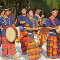 Thai Long Drum Procession